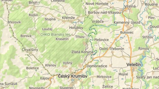 Chlapec se ztratil v lese mezi Holubovem a Třísovem.