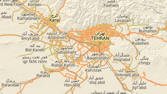 Letadlo se zřítilo krátce po startu z letiště imáma Chomejního v Teheránu. (8. ledna 2020)