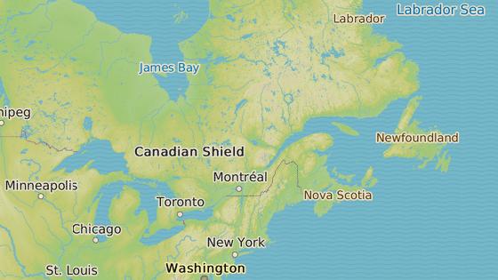 Důl Vale's Totten se nachází nedaleko kanadského Sudbury.