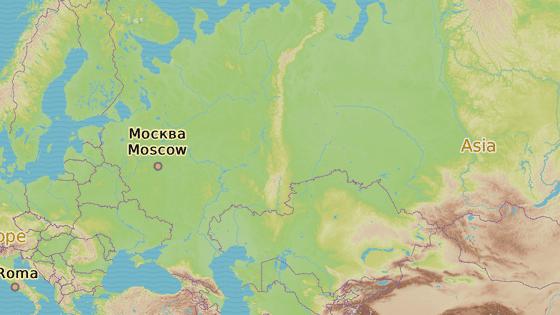 Město Krasnojarsk na Sibiři