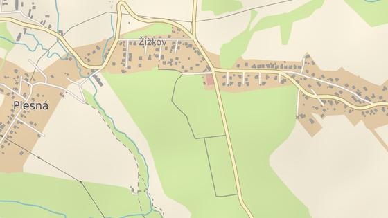 Místo události v Ostravě-Plesné.