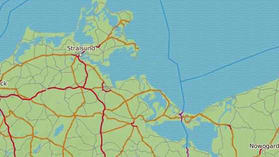 Cesta z Polska na Rujánu a zpět je dlouhá 150 námořních mil.