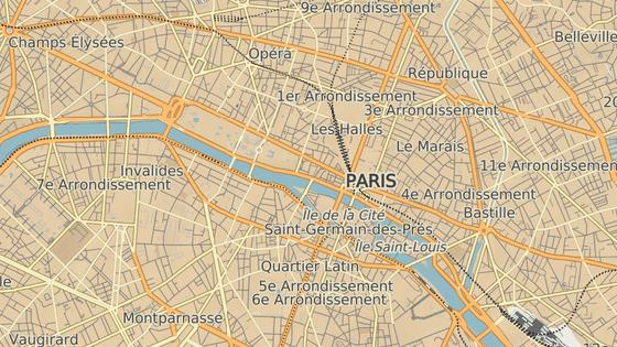 Prefektura na Île de la Cité v Paříži
