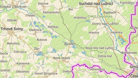 Firma chce těžit vltavíny v lesích u Byňova.