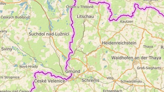 Firma plánuje rozšířit lom u česko-rakouských hranic.