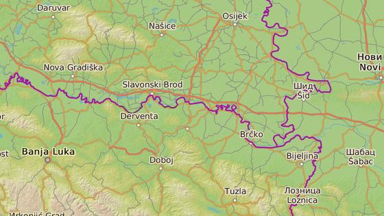Derventa, Bosna