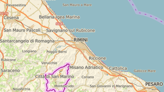 Incident se odehrál v italském letovisku Rimini