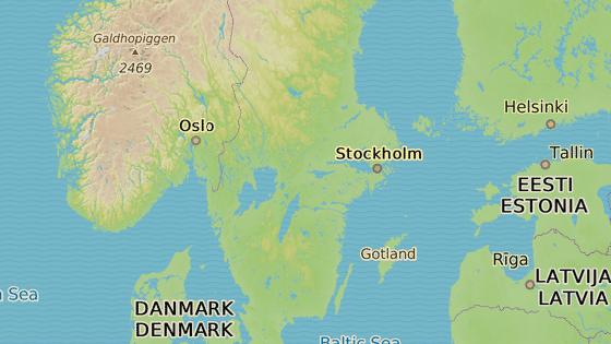 Örebro se nachází asi 160 kilometrů západně od Stockholmu