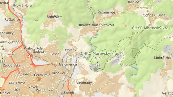 Cyklostezka z Brna do Bílovic nad Svitavou je uzavřená.
