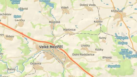 Vlak bez strojvedoucího urazil šest kilometrů po klikaté trati z Martinic do Velkého Meziříčí.