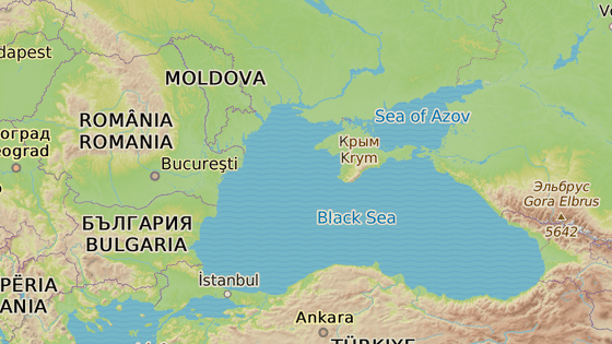 Vesnice Volná se nachází na pobřeží Černého moře.