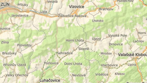 Nehoda se stala v centru obce Haluzice na Zlínsku.
