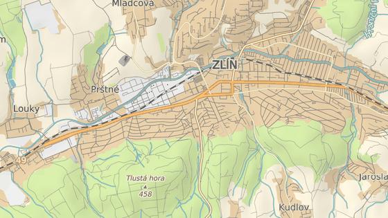 Křižovatku ulic Březnická a Mostní ve Zlíně čekají rozsáhlé úpravy.