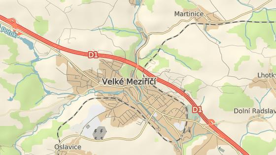 Uzavřený most ve Velkém Meziříčí. Oficiální objížďka více než čtyři měsíce povede po dálnici D1.