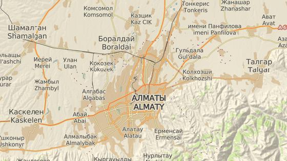 Letoun havaroval při startu z letiště v kazašském Almaty. (27. prosince 2019)