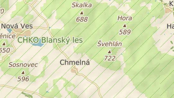 Muž našel kostru poblíž obce Chmelná.