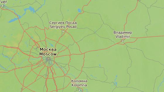 Přibližné místo nehody u stanice Pokrov.