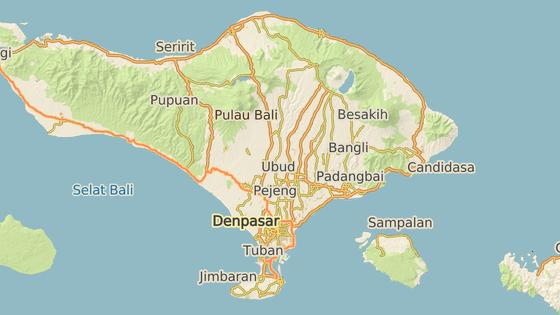 Sopka Agung se nachází v severovýchodní části Bali. Jedná se o nejvyšší sopku tohoto ostrova