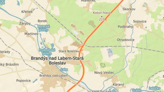 Komerční zóna by mohla vzniknout také u dálnice D10.