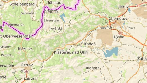 nehoda se stala u Klášterce nad Ohří