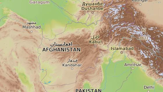 Daští Arčí, Afghánistán