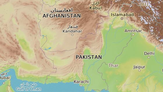 Pákistánské město Kvéta leží asi 100 kilometrů od hranic s Afghánistánem.