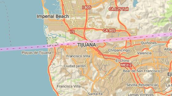 Tajný tunel začíná v mexické Tijuaně, necelých sto metrů od americké hranice.
