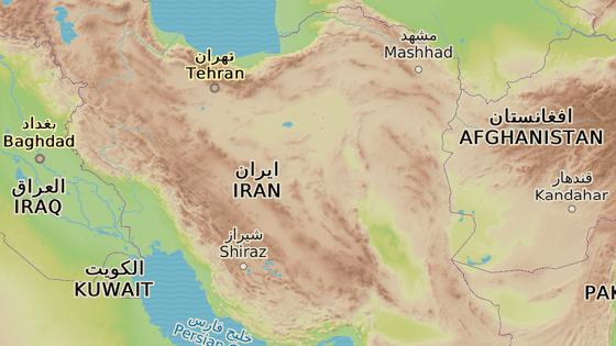 Město Kermán leží asi tisíc kilometrů na  jih od íránské metropole Teheránu.