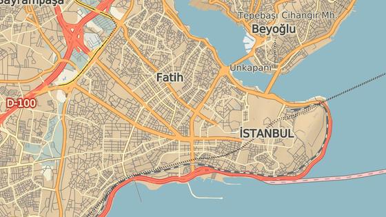 Mešita Fatih se nachází ve stejnojmenné části Istanbulu.
