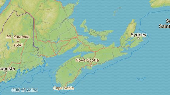 Mys Cape Breton v Novém Skotsku se stejnojmenným národním parkem.
