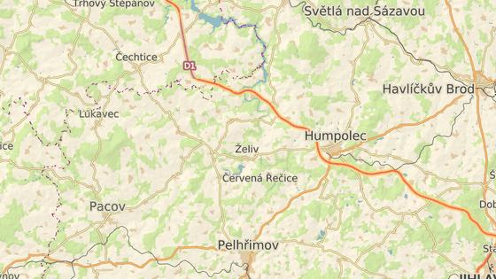 K nehodě došlo na autobusové zastávce mezi Košeticemi a Křelovicemi na Pelhřimovsku.
