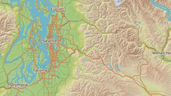 Puma na muže zaútočila zhruba padesát kilometrů východně od Seattlu.