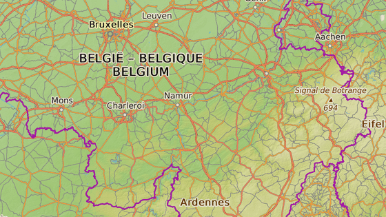 Charleroi, Belgie