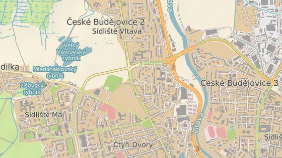 Obchodní centrum má vyrůst u Husovy třídy v Českých Budějovicích.