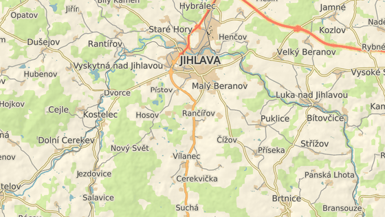 K nehodě došlo na silnici I/38 v mírné zatáčce před vjezdem do Vílance.