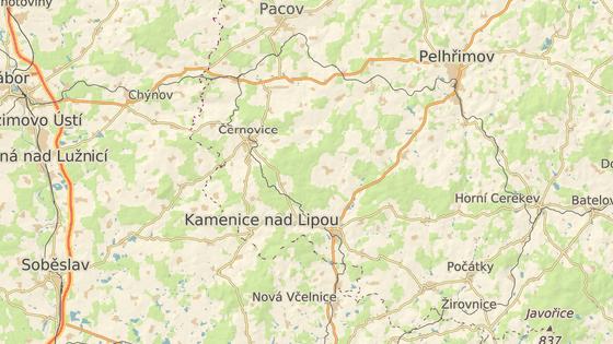 K nehodě došlo v obci Pravíkov poblíž Kamenice nad Lipou.