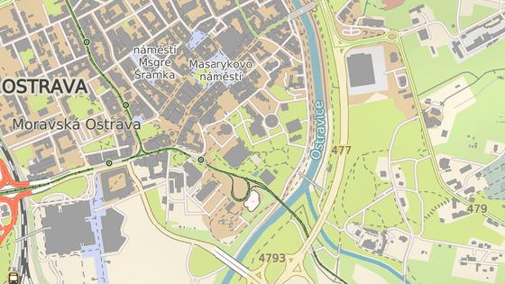 Areál Ostravské univerzity bude stát nedaleko historického jádra Ostravy,