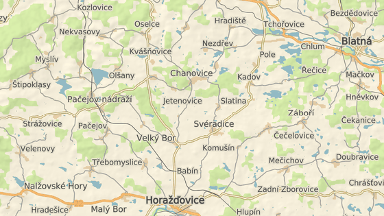 Nehoda se stala na silnici mezi Velkým Borem a Defurovými Lažany.