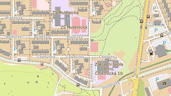 Developer plánuje nový rekreační komplex v Čejkovické ulici v Brně.