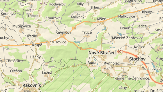 Vážná nehoda se stala na silnici I/6 u Řevničova.