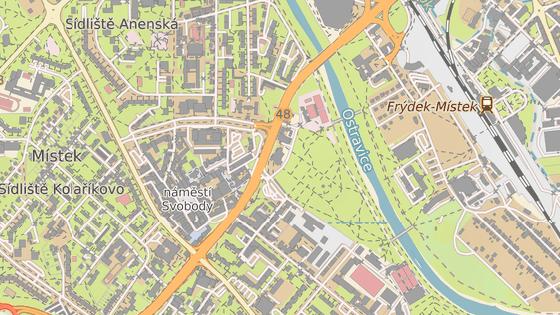 Násilný trestný čin se stal v Pivovarské ulici ve Frýdku-Místku.