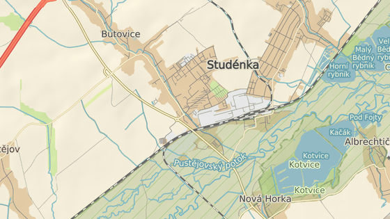 Tragická nehoda se stala u Studénky na Novojičínsku v prostoru křižovatky Oderská a Matiční.