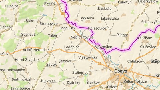 Nehoda se stala na silnici I/11 v katastru obce Neplachovice-Zadky na Opavsku.
