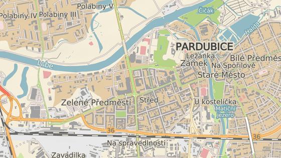 Masarykovo náměstí v Pardubicích