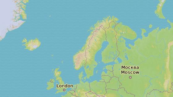 Přístav Murmansk, poloostrov Kola v evropské části Ruska