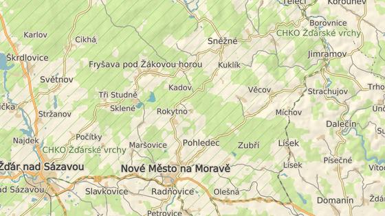 K nehodě došlo na silnici spojující Jimramov a Nový Jimramov na Žďársku.
