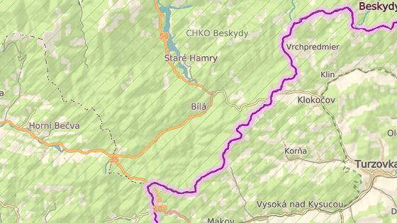 Obec Bílá na Frýdecko-Místecku.