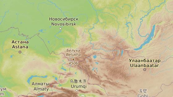 """Sluneční město, centrum Vissarionovy """"zaslíbené země""""."""