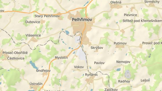 Problémové místo se nachází na frekventované výpadovce z Pelhřimova na Jindřichův Hradec.