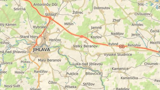 Zrádná silnice 404 do Luk nad Jihlavou se během letošního roku stane bezpečnější.